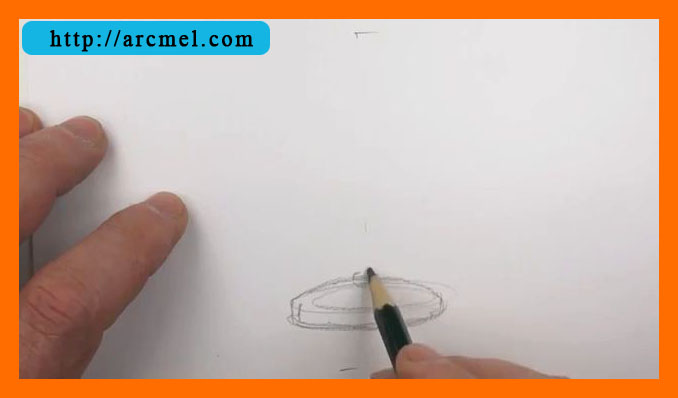 How To Draw Lamp Step By Step